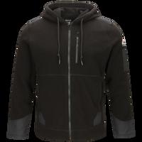 Men's Front Zip Modacrylic Blend Fleece Hoodie