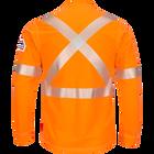 iQ Series® Comfort Knit Men's FR Long Sleeve T-Shirt with Reflective Trim