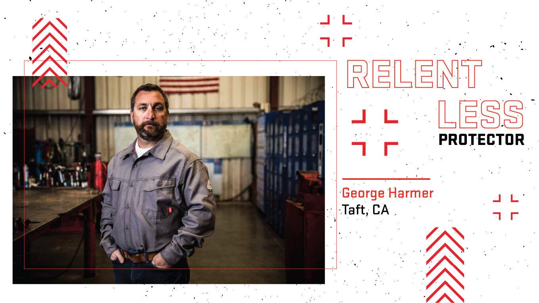 Relentless Protector: George Harmer
